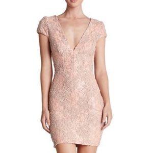 Dress the Population Zoe Pink Sequin Dress